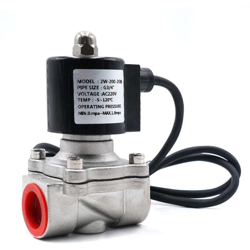 Water Valve, Waterproof Solenoid Valve, 304 Stainless Steel Fountain Underwater Normally Closed Valve,IP68 Direct Acting(NC)