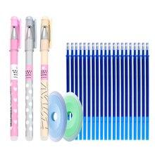 25ชิ้น/ล็อตสัตว์ErasableปากกาเมจิกErasable Gelปากกาล้างทำความสะอาดได้จับสำหรับสำนักงานโรงเรียนเขียนเครื่องเขียน
