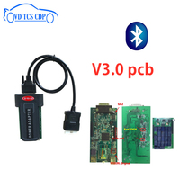 2pc/Lot by DHL! BEST V3.0 green pcb with Bluetooth usb 2016.0 software keygen obd2 Diagnostic tool vd tcs cdp Scan for autocoms
