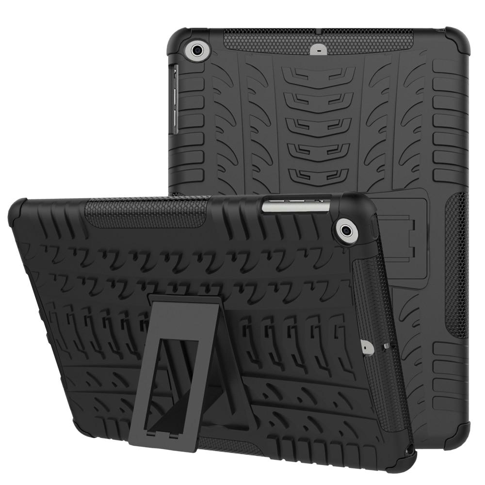 Противоударный сверхпрочный чехол для iPad Air 1 Гибридный армированный PC + резиновый силиконовый чехол с подставкой для iPad air 1 противоударный