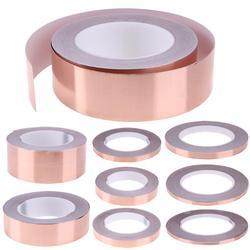 30 Meters Single Side Adhesive EMI Shielding Heat Resist Copper Foil Tape
