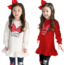 Children Clothing Sets Costumes For Kids Sport Suits Girls Clothes Sets girls Dress+pants Cartoon Baby Girls Clothes v tree girls clothing sets spring long sleeve t shirt pants costumes for kids sport suits for teenagers girls school uniform