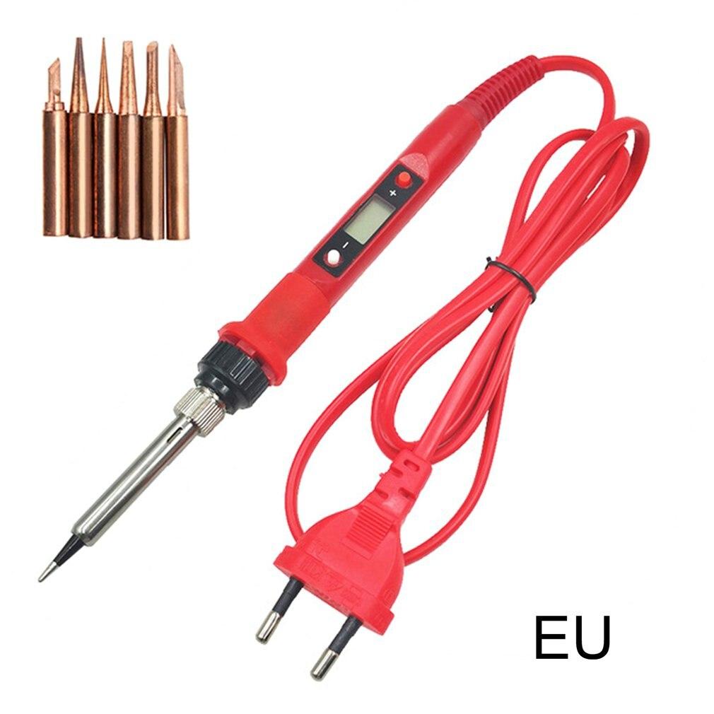 LCD Constant Temperature Electric Soldering Iron High Power Electric Soldering Iron Set Portable Welding Pen