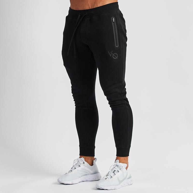 Jogger מקרית streetwear אופנה גברים של בגדי 2019 חדש גברים של ספורט מכנסיים + הסווטשרט כושר כותנה גברים של חליפה