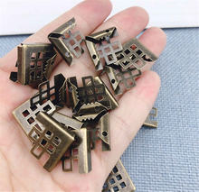 50 штук железный металлический книжный Скрапбукинг папка для