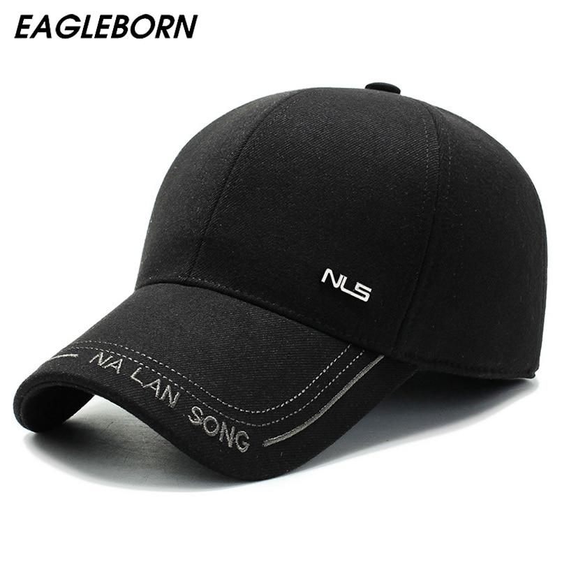 Новая зимняя шапка Eagleborn 2020, Мужская бейсболка, новая зимняя Классическая Шапка для папы, теплая шапка со скрытыми ушами, ветрозащитная кепка со звездами из фильма Мужские бейсболки      АлиЭкспресс