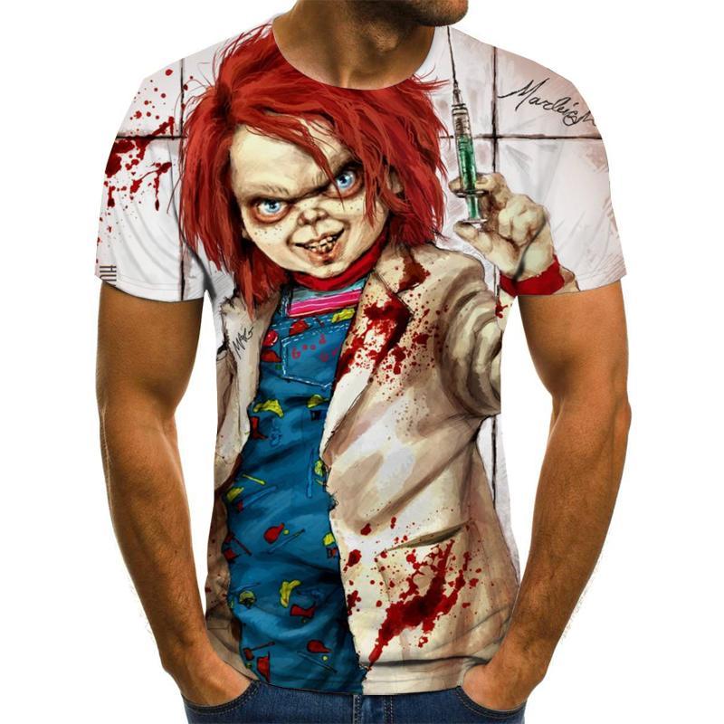 2020 New Men's/Women's T-shirt Short-sleeved T-shirt Printing 3dt Shirt Casual Hip-hop 3d Printing T-shirt Top XXS-6XL