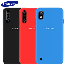 Samsung A10 Case Official Original Soft Silicone Protector Galaxy A20 A30 A50 A70 S10 5G S8 S9 Plus Back