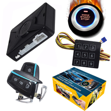 Cardot Russische Gratis Verzending Kosten Remote Starter Push Start Stop Auto Passief Keyless Entry Automotive Auto Alarm