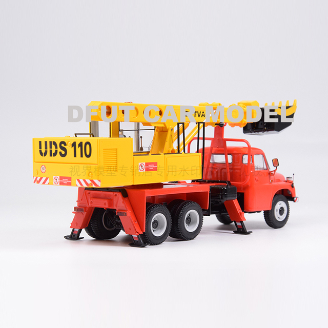 143 escala liga brinquedo união soviética Tatra-148 UDS-110A escavação modelo de máquina de brinquedo das crianças carro original autêntico crianças brinquedos
