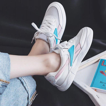 2019 Fashion Women Blue Red Sneaker Tenis Feminino Lace Up Running Shoes Flat Sneakers 21818ASL3041 blue lace up