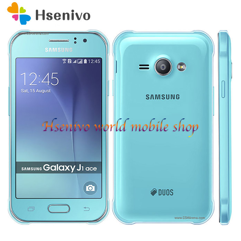 Samsung Galaxy J1 Ace J110 4G LTE mobile phone Dual sim Android 4GB ROM Wifi GPS Duad Core 4.3″ touch screen mobile phone