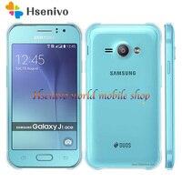 Samsung galaxy celular j1 ace j110  4g lte  dual sim  android  4gb rom  wi-fi  gps  duad core telefone móvel touch screen de 4.3