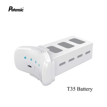Potensic Dreamer batería de Dron 4K 3000mAh, 45,6wh/31 minutos tiempo máximo de vuelo/2 horas de carga rápida/Sistema Dinámico PowerAC P1/T35