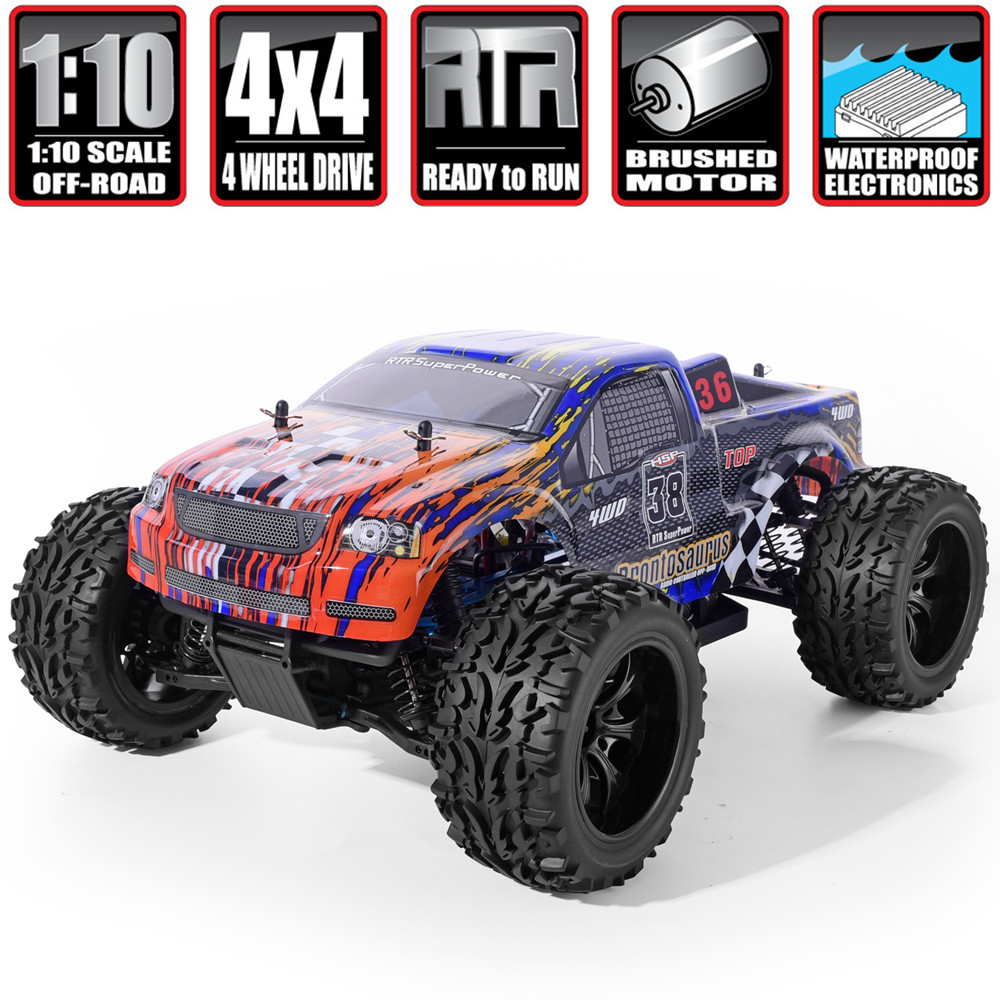 HSP Racing RC Car 4wd Off Road Trucks 94111 1/10 Scale Electric Power 4x4 vehicle Toys High Speed Hobby Remote Control Car image