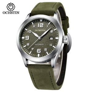 OCHSTIN Relogio Masculino Army Mens Watches Luxury Casual Dress Military Wristwatches Automatic Mechanical Watch Waterproof