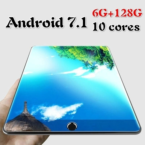 YAHU Fast Shipping Andoid 8.0 Tablet 10.1 Inch Ten Cores  6G+128GB Tablets 4G Call Phone Wifi Tablets PC Computer  Tablet 10.1
