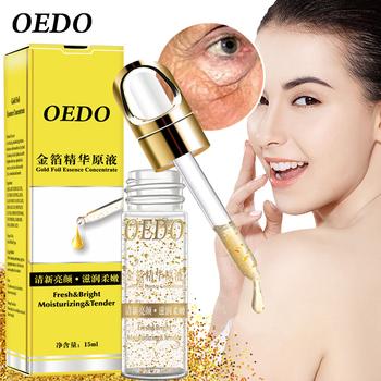 OEDO zmniejszyć pory złoty kwas hialuronowy w płynie nawilżający Serum do twarzy wybielanie roślin pielęgnacja skóry Anti-Aging krem przeciwzmarszczkowy tanie i dobre opinie Kobiet Ciecz Twarzy surowicy CARBOMER HYALURONIC ACID Gold CHINA GZZZ 230001110