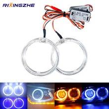 2pcs DRL LED בשעות היום ריצה פנס מנורת רכב עיני מלאך Led Halo טבעת פנס DRL 12V 80MM 90MM 105MM 110MM לרכב פנס