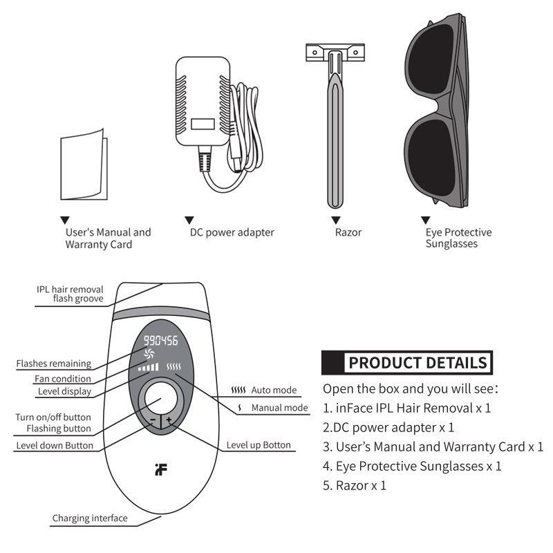IPL Epilator Laser Hair Removal