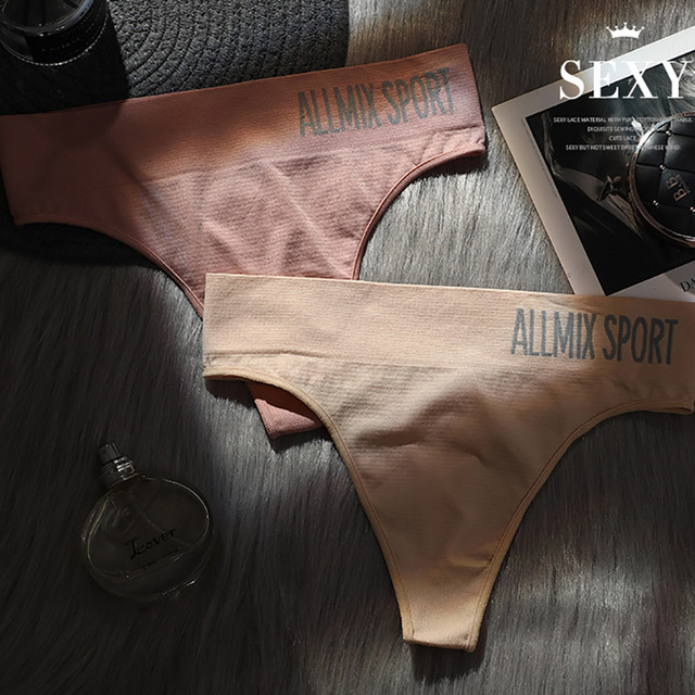 Everyday Cotton Thong Panties  5