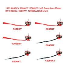 Ex1103 6000KV/8000KV/12000KV 2-4S Brushless Motor 1.5mm Shaft For Sailfly-X Toothpick RC Racing Drone FPV Models