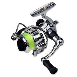 Image 4 - Emmbar Mini100 صنارة صيد الأسماك 2 + 1BB 4.3: 1 صنارة معدنية لصيد الأسماك صنارة صيد الأسماك بكرة دوارة صغيرة