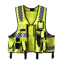 Reflective vest on duty high speed traffic warning clothing safety vest