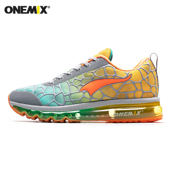 ONEMIX New Style Men Running Shoes Outdoor Leather Jogging Trekking Sneakers Summer Breathable Mesh Athletic Women Sport Shoes 10