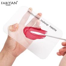Set Acryl Palet Rvs Spatel Staaf Makeup Cream Foundation Pigment Oogschaduw Mengen Polish Nail Art Manicure Gereedschap
