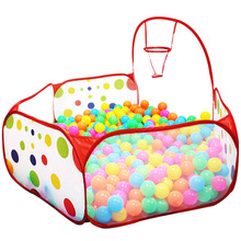 Tent Playhouse Ball-Pool-Pit Outdoor-Toys Foldable Basket Ocean-Ball Children with Baby