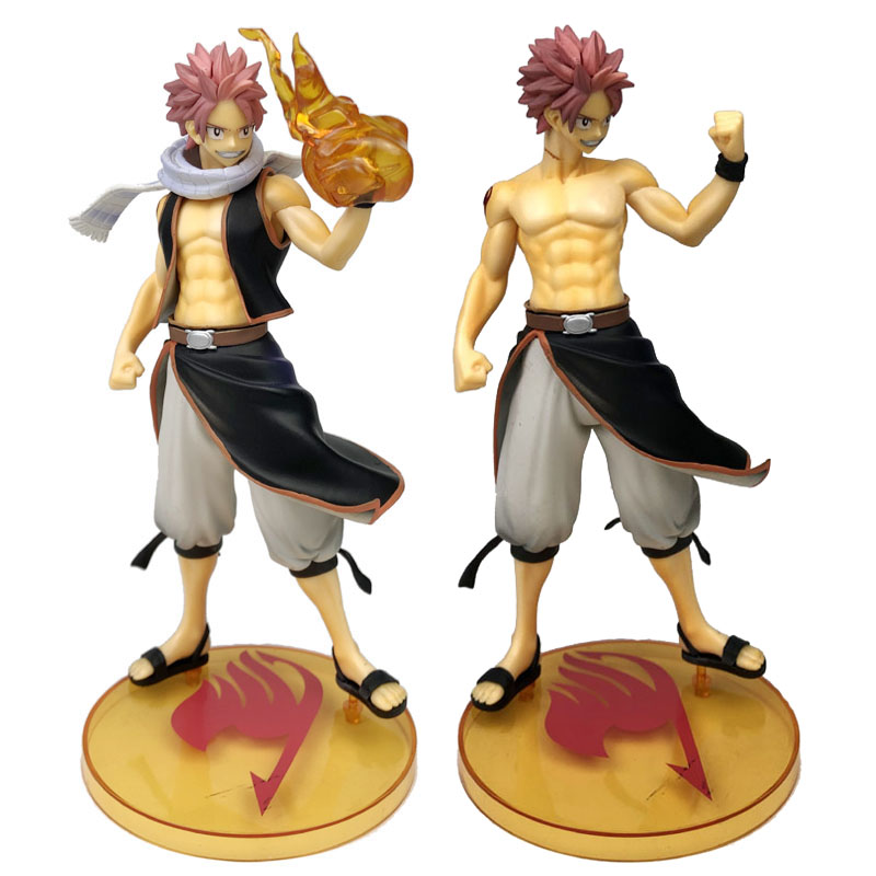 Color : Lucy no color box WXIAO HMMOZ PVC Anime Fairy Tail Lucy Natsu Dragneel Action Figure 1//7 Scale Painted Model Toy Get Off DIY Assemble Gifts Decorations anime figure