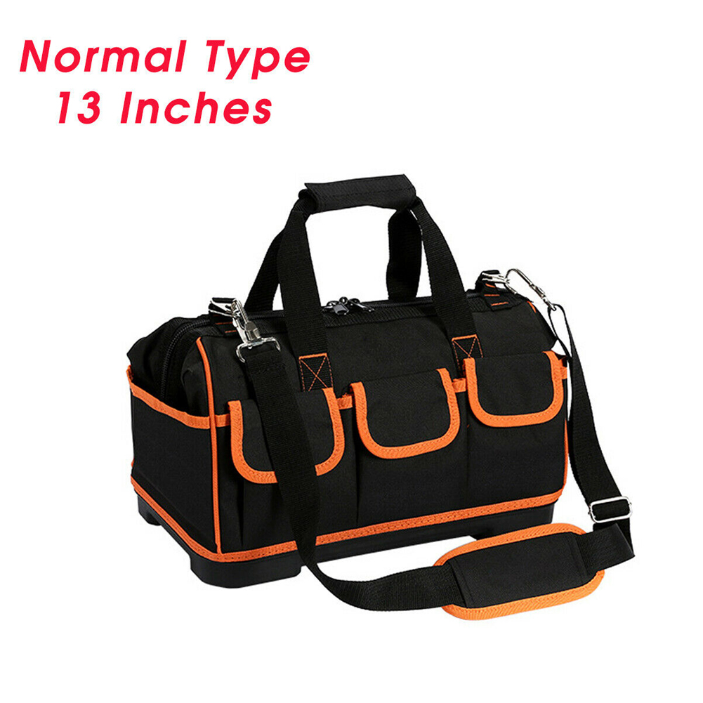 13/17inch Adjustable Strap Shoulder Tool Bag Large Capacity Space Saving Protective Heavy Duty Storage Organizer Oxford Cloth