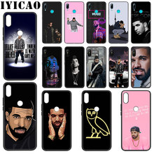 IYICAO Rapper Drake Soft Silicone Case for Xiaomi Redmi Note 4X 5 6 7 8 Pro 5A Prime