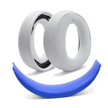 New Ear Pad Cushion Earmuff  For S-ONY Gold Wireless CECHYA-0083 PS4 7.1 Headphone