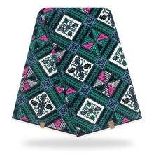 Новая Голландия 6 Ярд Анкара Африканский 100% Хлопок Реальный Воск Ткань Для Платье Делая DIY Швейные Аксессуары