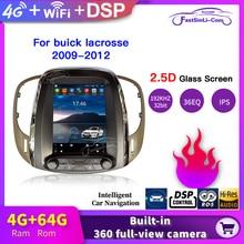 4GB + 64GB araba Android multimedya oynatıcı buick lacrosse 2009 2012 için yıl GPS dikey ekran