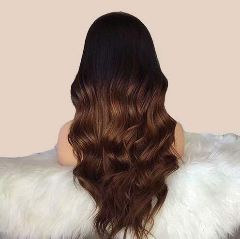 Eseewigs 1b T 30 Color Ombre Body Wave Human Hair Wigs With Baby Hair Lace Front Wigs PrePlucked Brazilian Remy For Black Women