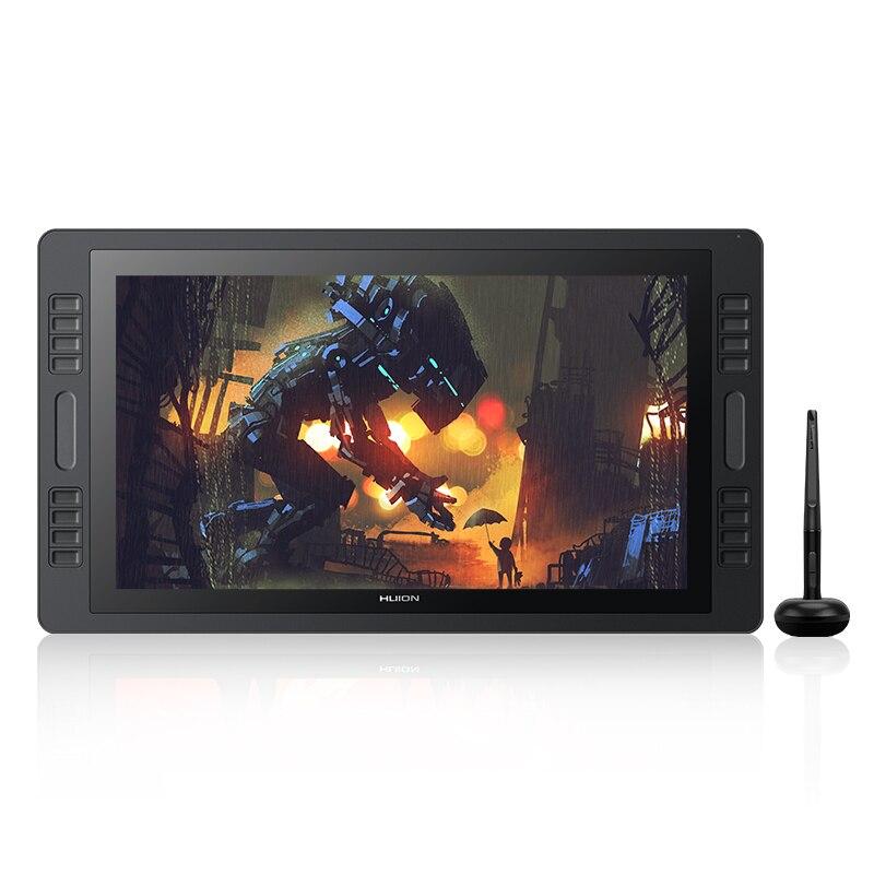 KAMVAS Pro 20 2019 Version avec inclinaison graphique tablette moniteur 8192 leviers pression sensibilité stylo affichage dessin tablette