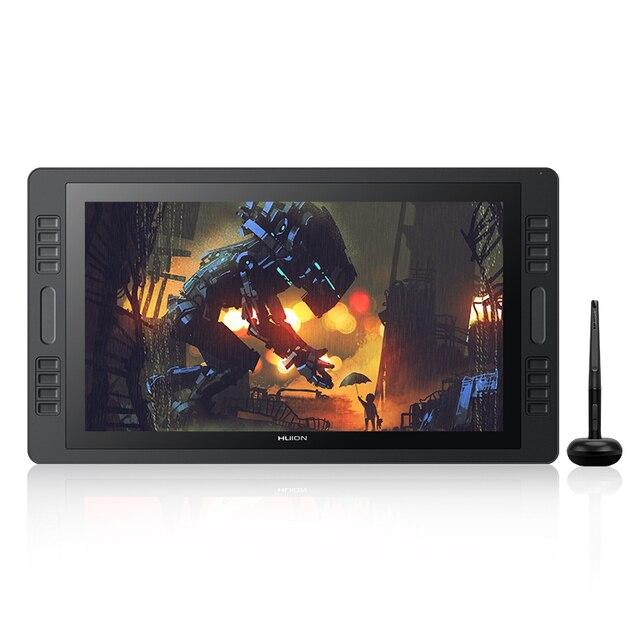 Kamvas pro 20 2019 versão com inclinação gráficos tablet monitor 8192 leverls pressão sensibilidade caneta exibição desenho tablet