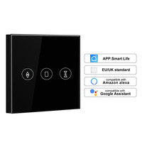 WiFi Electrical Blinds Switch Touch APP Voice Control By Alexa Echo AC110 To 250V For Mechanical Limit Blinds Motor