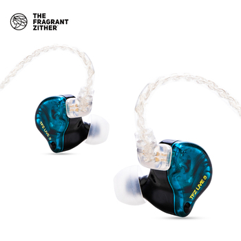 TFZ LIVE 3,Hifi In Ear Earphone,2 Magnetic+1.0Tesla's Unit, HIFI Bass наушники In Ear Monitor Sport Earphone With Upgraded Cable