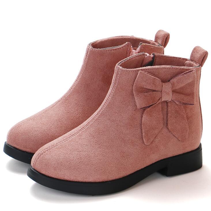 2019, Ботинки Martin для девочек, кожаная спортивная обувь для девочек, детские теплые ботинки, модные зимние ботинки принцессы с мягкой подошвой...