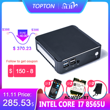 Nuc PC 8Th Gen Intel Core i7 8565U 32GB RAM DDR4 NVME SSD Pocket PC Windows 10 Pro AC Wifi 4K HTPC HDMI2.0 Type c  Mini Computer