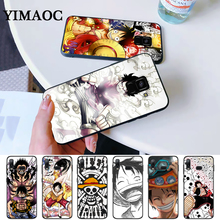 Japanese anime collage one piece luffy Silicone Case for Samsung A3 A5 A6 Plus 2018 A7 A8 A9 A10 A30 A40 A50 A60 A70 J6