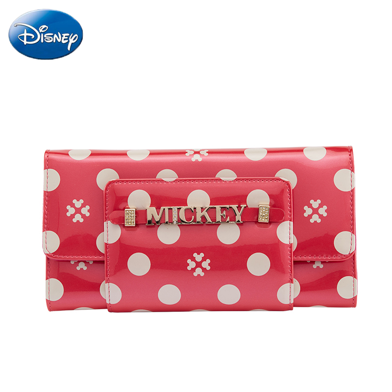 2019 Disney New Women Handbag-Wallet Fashion-Wallet Female Long Pu Zipper Pouch Casual Girl Purse-Card Lady Party-Wallets Holder
