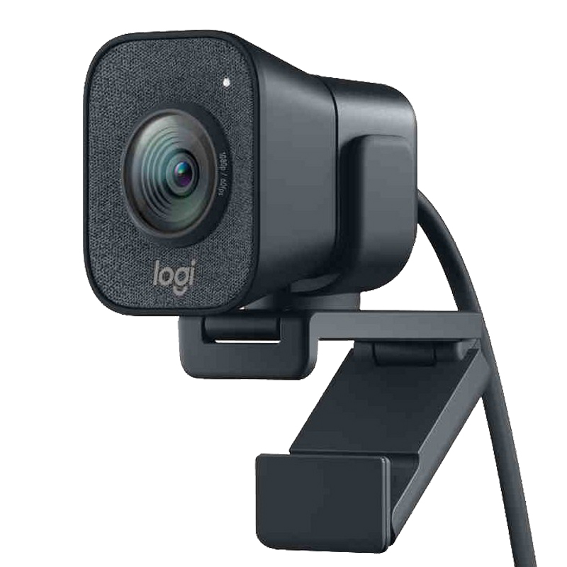 Original Logitech StreamCam Webcam 1080P 60fps Streaming Web Camera with USB-C and Buillt in Microphone Web Cam