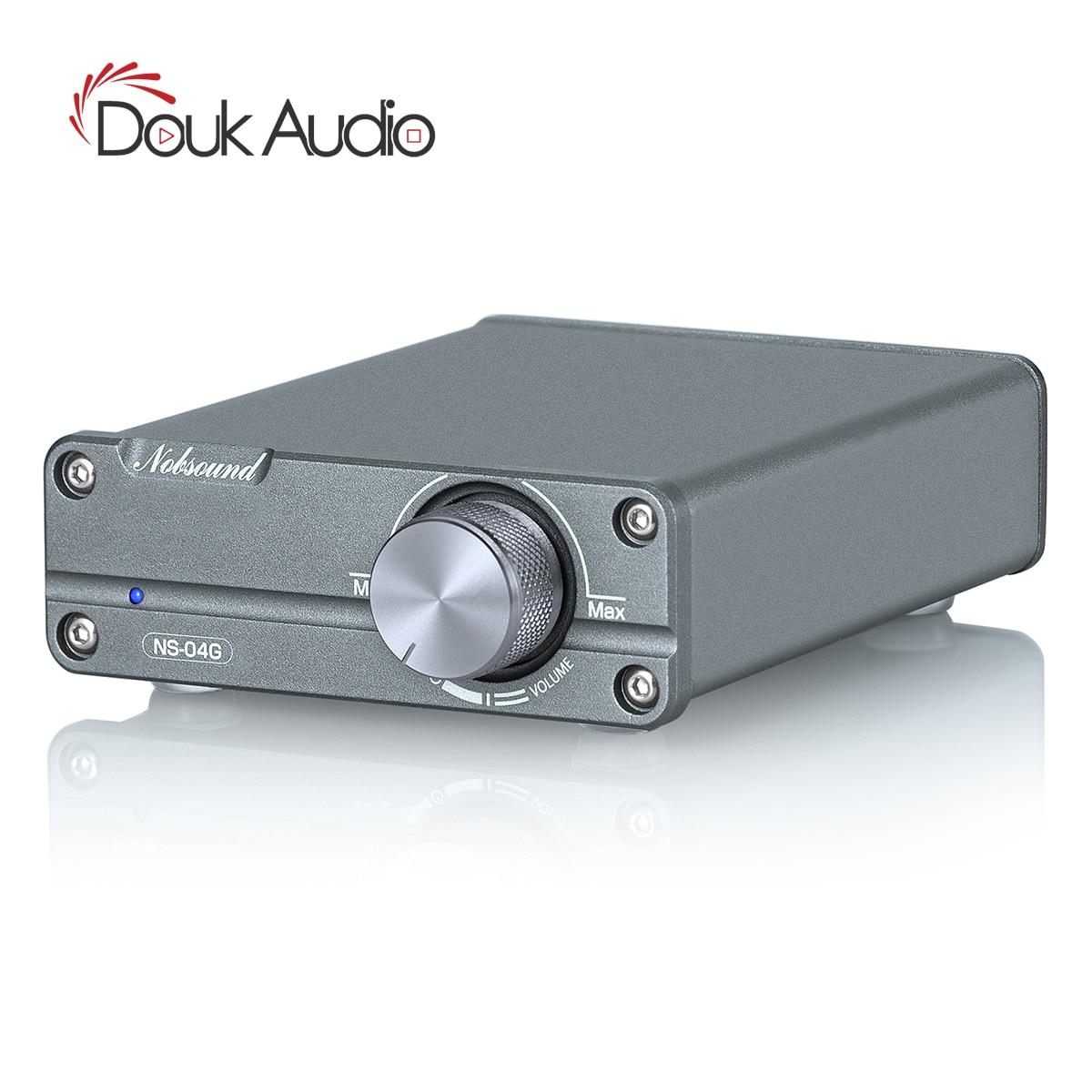 Douk áudio tpa3116 classe d amplificador digital estéreo de alta fidelidade 2.0 canais potência amp áudio em casa 50w + 50w/100w + 100w