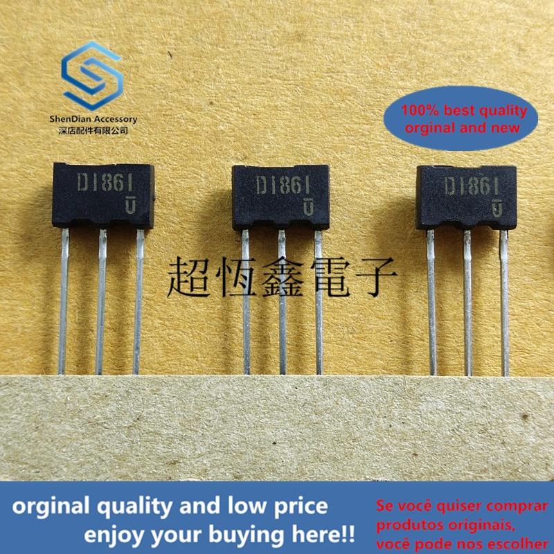 5pcs 100% Orginal New 2SD1861 TV2 D1861 Epitaxial Planar NPN Silicon Darlington Transistors Real Photo