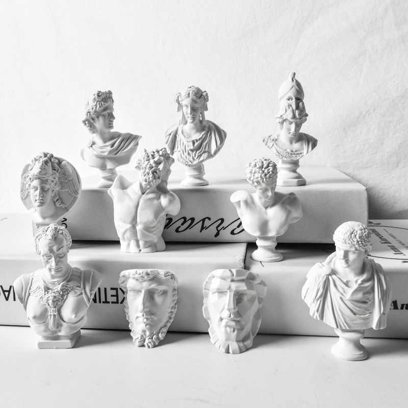 יווני גיבור אופי פיסול פסל חיקוי גבס שרף סקיצה עיסוק דגם מלאכות עיצוב הבית מתנה